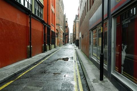 Back street Manchester  Panasonic G1