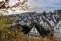 Old German village in autumn