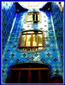 Indoor courtyard by Antonio Gaudi