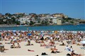 Sizzling Summer in Bondi beach, Australia