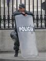 Peruvian policeman, Lima