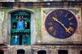 clock in Sighisoara