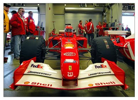 F-1 Ferrari