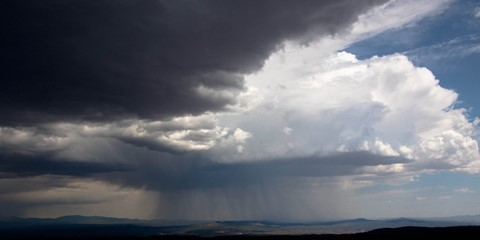 Rainstorm near Santa Fe