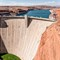 Glen Canyon Dam. Colorado River