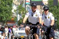Hot August Nights Parade of Cars - Reno Bike Patrol