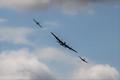 Spitfire, Lancaster, Hurricane