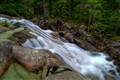 Falls at Hrebienok