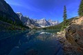South channel Moraine lake