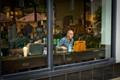 Starbucks scene, downtown Honolulu HI.