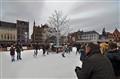 Iceskaters in Brugges (Belgium)