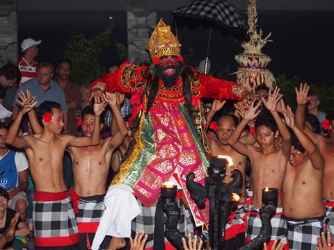Kecak Dance at Uluwatu Bali