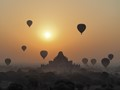 One of my favorites from my Myanmar trip, this is sunrise in Bagan