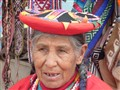 """Monteras"" traditional dress hat of Peruvian Indians"