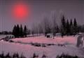 A Red Sun ?