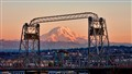 Mt Rainier & the 11th St Bridge