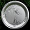 Hand carved Silver Platter