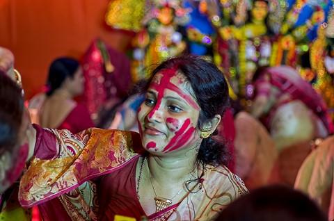 14 october 2013 bijoya prayas sindur khela 1