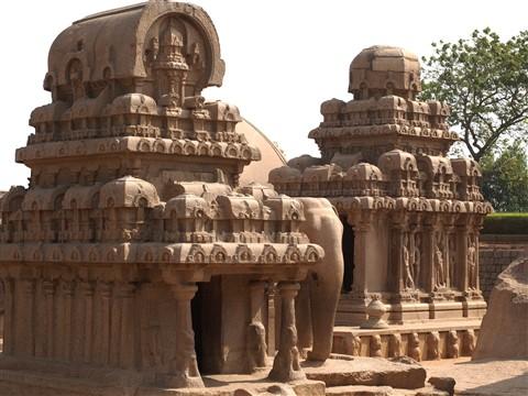 5 Rathas at mamallapuram