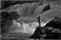 Fishing at Chippewa Falls