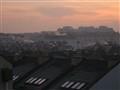 Dawn on a clear winter day