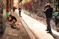 Capturing the graffiti artist