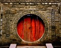 Antique portal ...