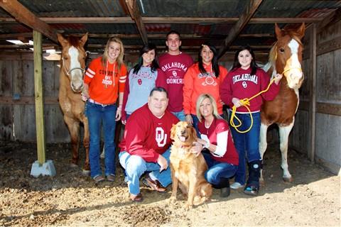 Annssa's family 2010
