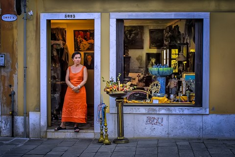 Shop Front in Venice