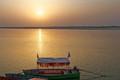 Sunset on Saryu river