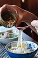 Something I ate in Japan: Tororo-imo on rice
