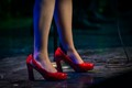 Janets Red Shoes