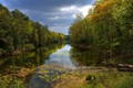 Along the Ausable...