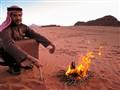 Hot Tea in Wadi Rum