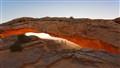 Mesa arch, 17mm full glow