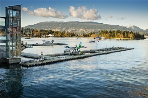 Float Plane dock - Vancouver Harbour