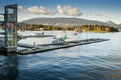 Float Plane dock - Vancouver Harbour