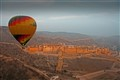 Balloon flight over The Amber Fort/Palace Jaipur India