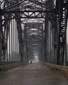 Bridge over the river Po