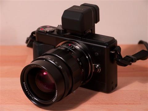 GX! Voigtlânder 25mm