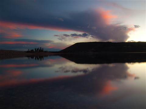 Sunset at Sunset bay RMNP (1 of 1)