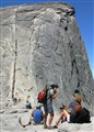 Half Dome Staircase