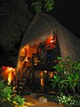 Lombongan Stilted Thatched Hut (Night)