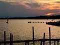 Sunset on the Toms River.