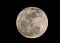 Flight across Super Moon