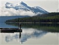 Early morning at Maligne Lake