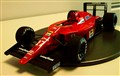 1/20 Ferrari F189 Early Version (model built by me)