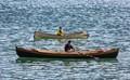 Rowers in Juneau Harbor