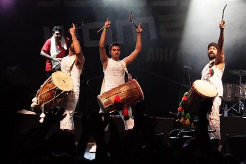 British-Indian Fusion Band (NOMAD Festival), Abu Dhabi