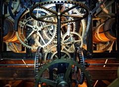 Inside A Clock Tower